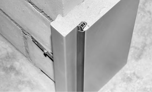 Stahlumfassungszarge für Mauerwerk 1000mm