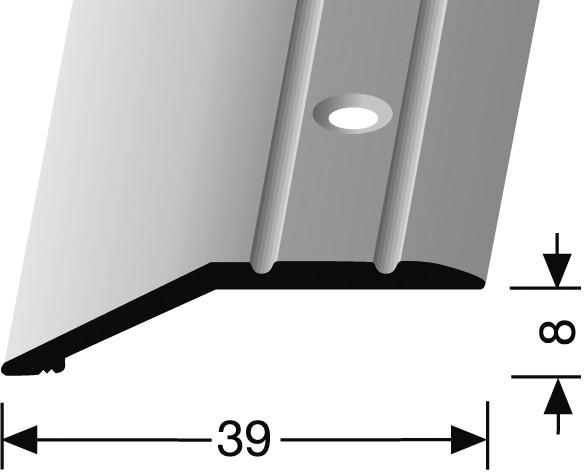 Ausgleichsprofil edelstahl PF 244, 270 cm