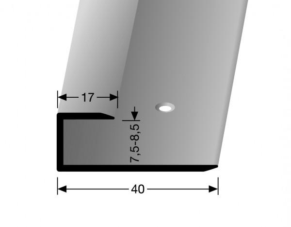 Gleitfugenprofil edelstahl PF 200, 8 mm