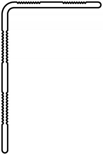 Terrafina Alu Abschlußleiste