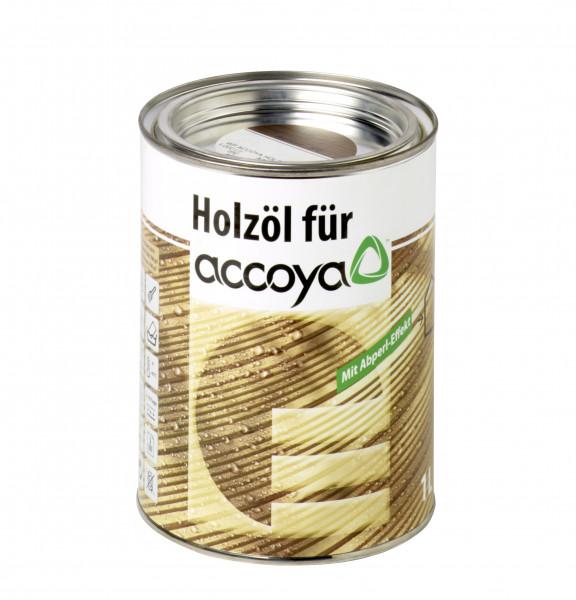 Holzöl für Accoya Quarzgrau 2,5l