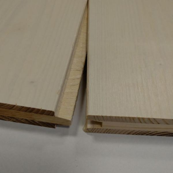 3-Schichtplatte Fichte B/C m. N+F, weiß