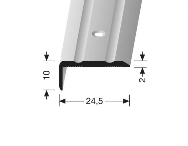 Winkelprofil silber PF 236, 270 cm