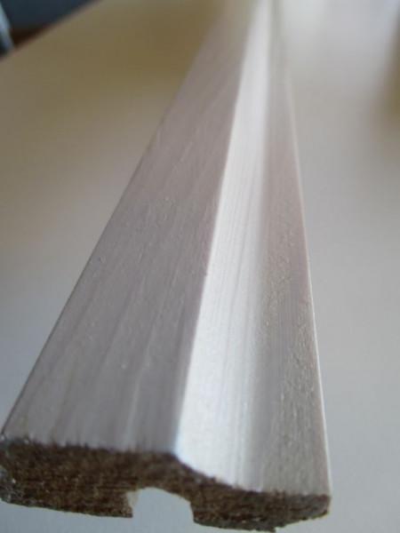 Deckenabschllußleiste Fichte/Tanne Aqua intensivweiss
