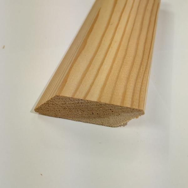Rhombus Fassadenprofil Lärche 45°