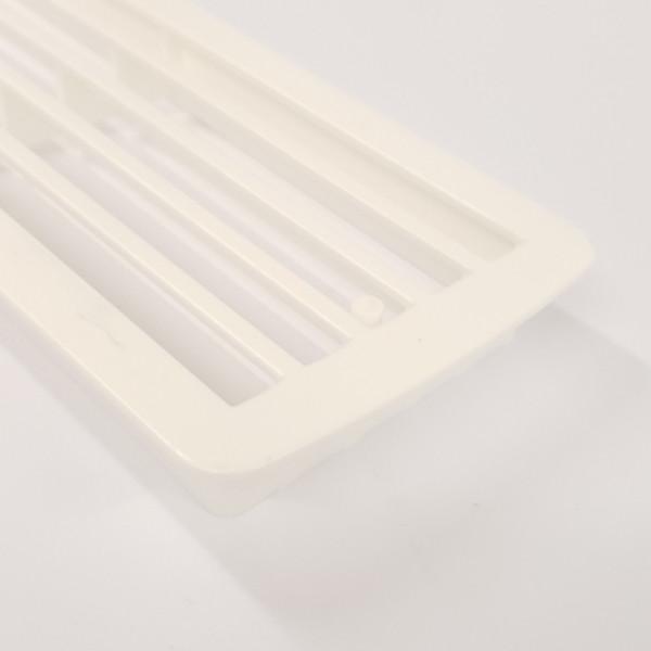 Lüftungsgitter Kunststoff weiß